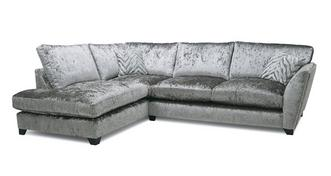 Cheska Formal Back Right Hand Facing Arm Medium Corner Sofa