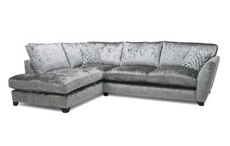 Formal Back Right Hand Facing Arm Medium Corner Sofa Cheska