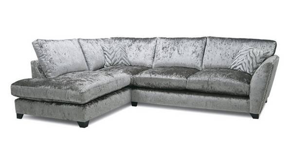 Cheska Formal Back Right Hand Facing Arm Medium Corner Sofa
