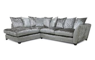 Pillow Back Right Hand Facing Arm Medium Corner Sofa