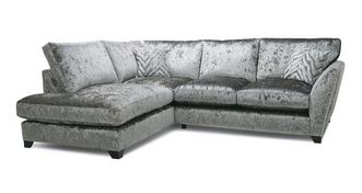 Cheska Formal Back Right Hand Facing Arm Small Corner Sofa