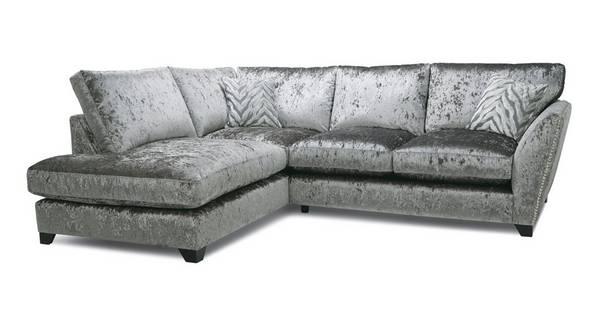 Cheska Formal Back Right Hand Facing Arm Small Corner Sofa