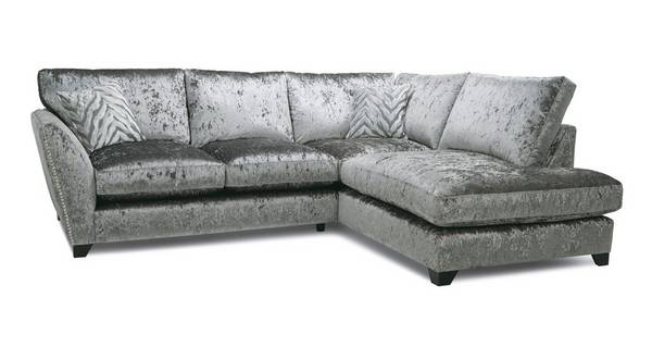 Cheska Formal Back Left Hand Facing Arm Small Corner Sofa