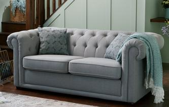 Chester Plain 2 Seater Sofa Bed Abbey Plain