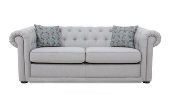 Plain 3 Seater Sofa Abbey Plain