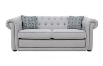Plain 3 Seater Sofa Bed Abbey Plain