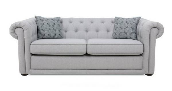 Chester Plain 3 Seater Sofa Bed