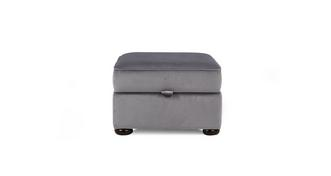 Chester Velvet Storage Footstool