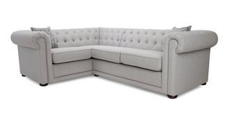Chester Plain Right Hand Facing Arm 2 Seater Corner Sofa