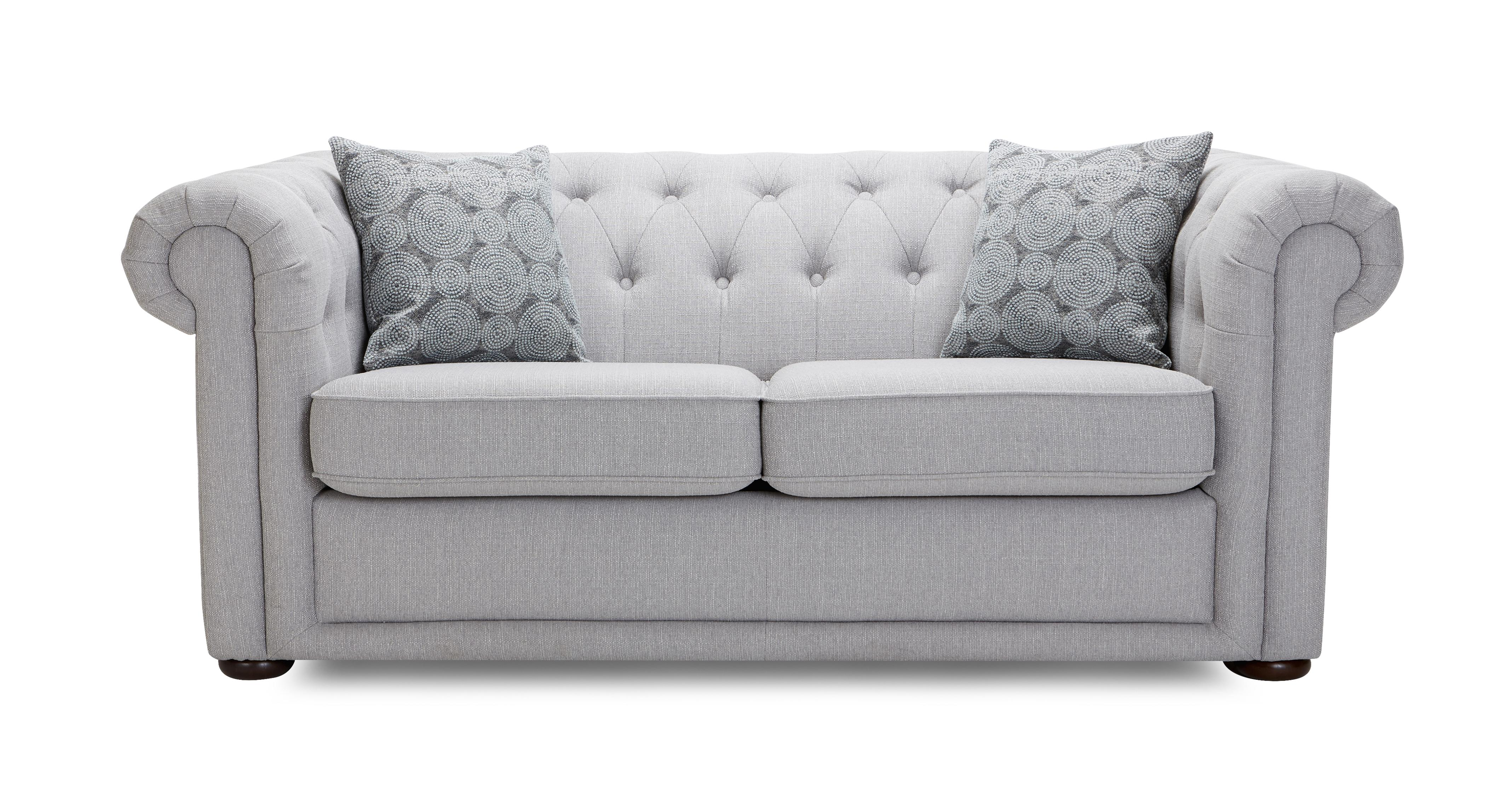 Chester Clearance 2 Seater Sofa Bed Abbey Plain DFS