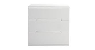 Chic 3 Drawer Chest