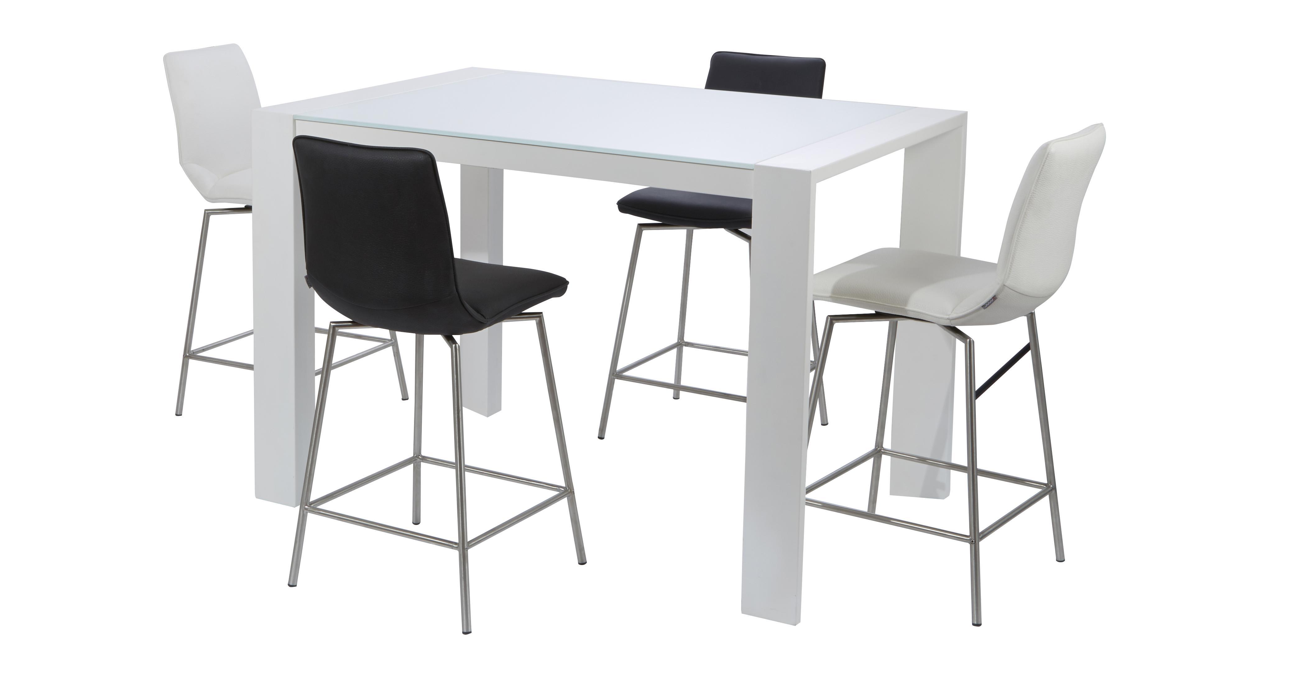 White Pub Table Set Cool Acme Furniture Count Patrick Bar