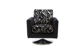Pattern Swivel Chair Clara