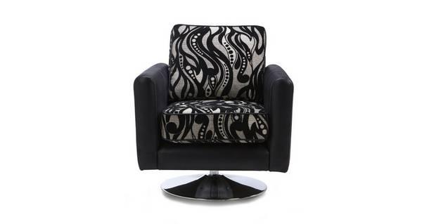 Clara Pattern Swivel Chair