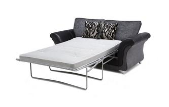 Large 2 Seater Formal Back Supreme Sofa Bed Clara