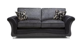 Clara 3 Seater Formal Back Sofa