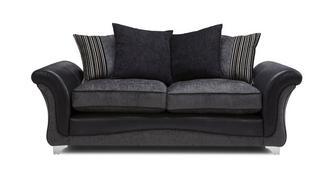 Clara 3 Seater Pillow Back Sofa