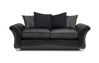 3 Seater Pillow Back Sofa Clara