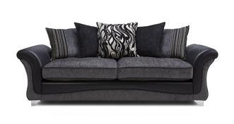 Clara 4 Seater Pillow Back Sofa
