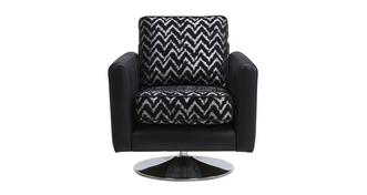 Clarissa Pattern Swivel Chair
