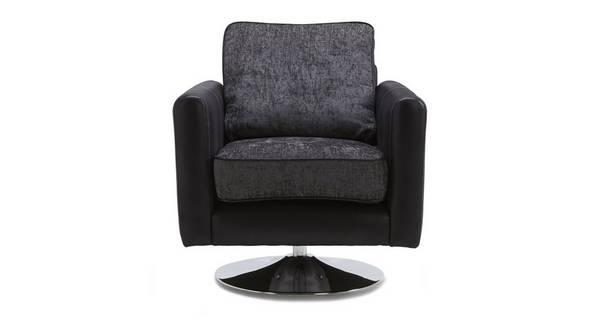 Clarissa Plain Swivel Chair