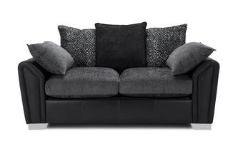 Pillow Back 2 Seater Sofa Carrara