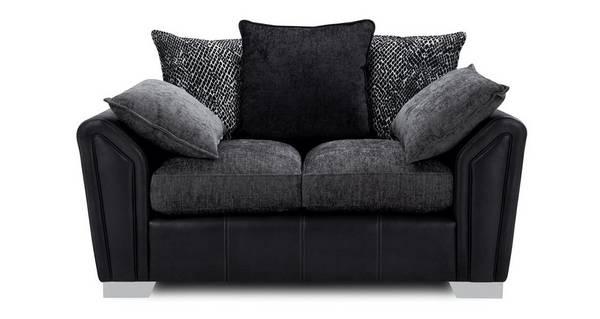 Clarissa Pillow Back Small 2 Seater Sofa