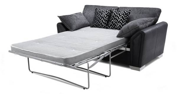 Clarissa Formal Back 2 Seater Deluxe Sofa Bed