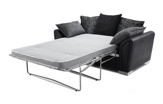 Pillow Back 2 Seater Deluxe Sofa Bed Carrara