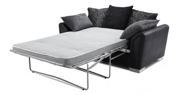 Clarissa Pillow Back 2 Seater Deluxe Sofa Bed