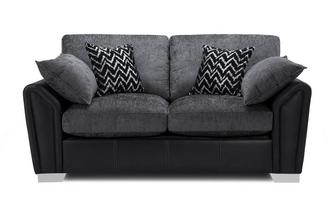 Formal Back 2 Seater Supreme Sofa Bed Carrara