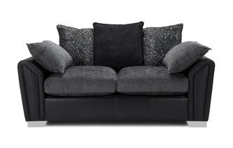 Pillow Back 2 Seater Supreme Sofa Bed Carrara