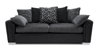 Clarissa Pillow Back 4 Seater Sofa