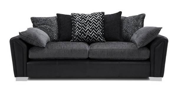 Clarissa Pillow Back 4 Seater Sofa