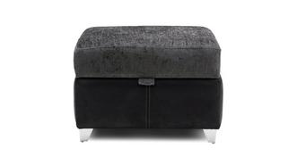 Clarissa Plain Top Storage Footstool
