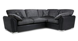Clarissa Formal Back Left Hand Facing 3 Seater Corner Sofa