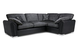 Formal Back Left Hand Facing 3 Seater Corner Sofa Carrara