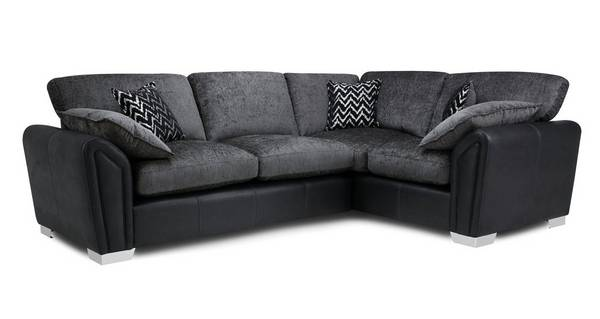Clarissa Formal Back Left Hand Facing 3 Seater Corner Sofa