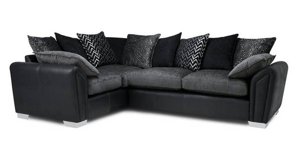 Clarissa Pillow Back Right Hand Facing 3 Seater Corner Sofa