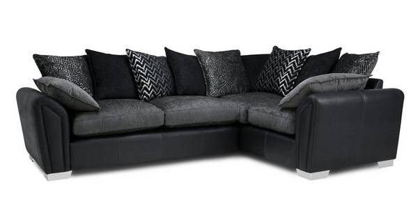 Clarissa Pillow Back Left Hand Facing Corner Deluxe Sofa Bed