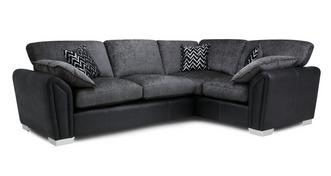 Clarissa Formal Back Left Hand Facing Corner Supreme Sofa Bed
