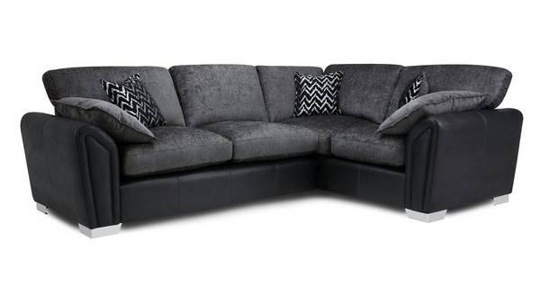 Clarissa Formal Back Left Hand Facing Corner Supreme Sofa Bed