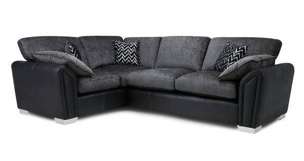 Clarissa Formal Back Right Hand Facing Supreme Corner Sofa Bed