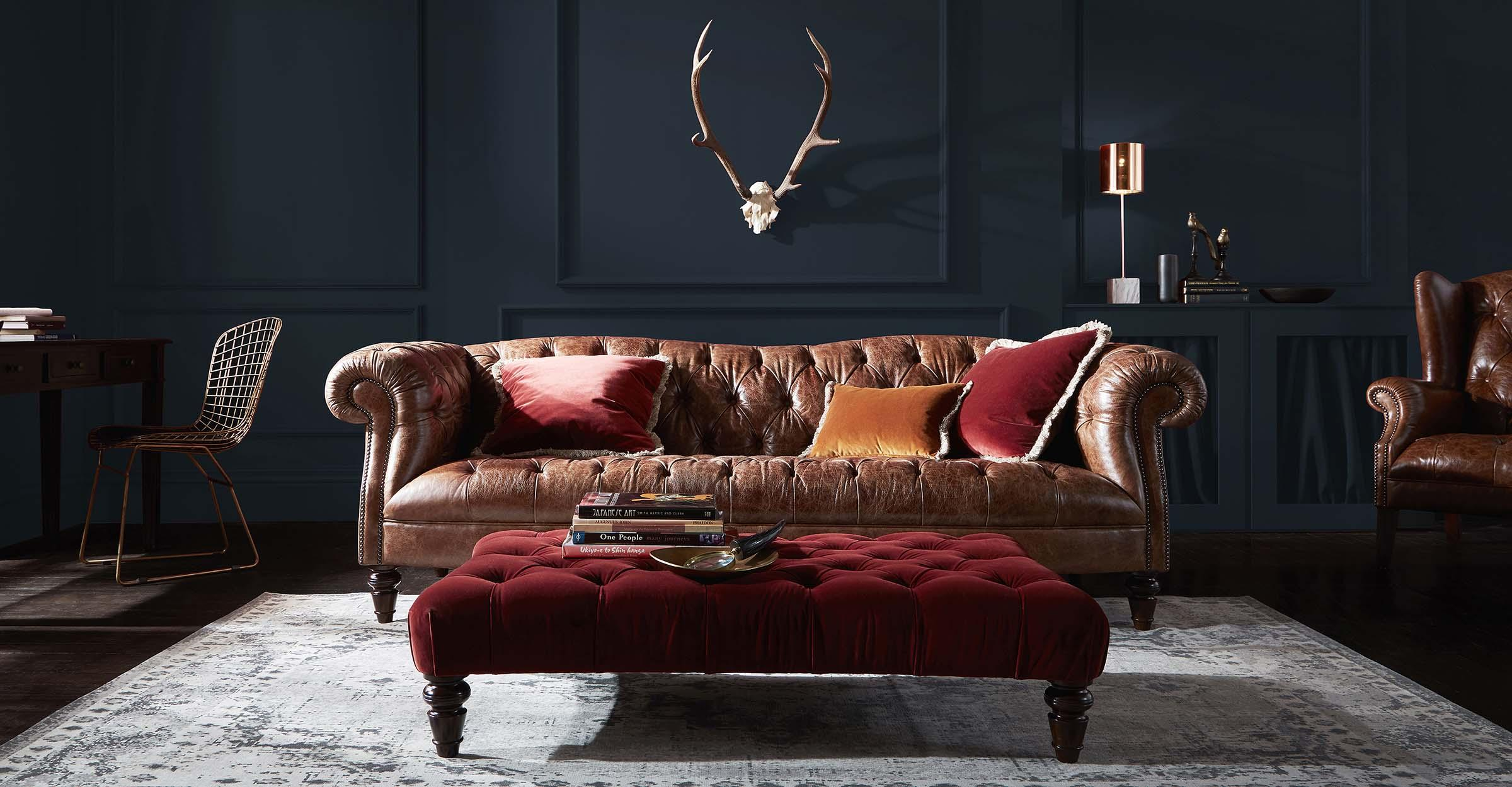 The Chesterfield sofa – a timeless traditional