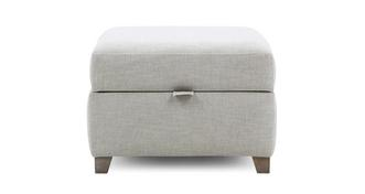 Claudette Storage Footstool