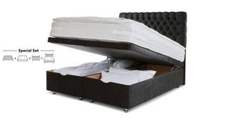 Claxby Double Ottoman Bed