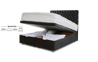 Super King Ottoman Bed Claxby