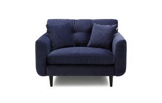 Velvet Cuddler Sofa Luxe Velvet