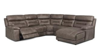 Clayton Option C Left Hand Facing Power Chaise Sofa