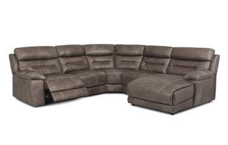 Option C Left Hand Facing Power Chaise Sofa Grand Heritage